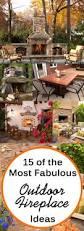 Backyard Fireplace Ideas by Best 20 Diy Outdoor Fireplace Ideas On Pinterest Small Fire Pit