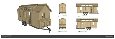 Tiny House Plan Small Plans Bedroom Trailer Canada With Loft Free Tiny House Plans In Canada