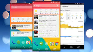 news widgets for android news and weather brings glanceable updates to your home screen