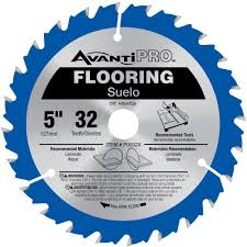 What To Use To Cut Laminate Flooring Avanti Pro 5 In X 32 Tooth Wood And Laminate Flooring Saw Blade