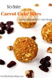 nut free carrot cake bites vegan gluten free u2022 healthy helper
