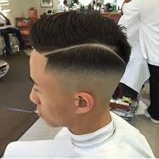 hard parting haircut modern twist on classic haircuts the hard part