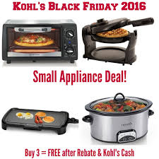 black friday appliance deals kohls black friday online deals small kitchen appliances free