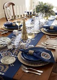 hanukkah tableware 12 unique ideas for hanukkah table decor sent in by our talented