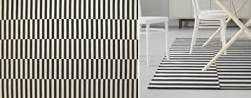 Black And White Stripped Rug Striped Wool Rug Get Quotations Handmade Flat Weave Stripe