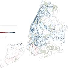 Map Of New York City Neighborhoods by The City Vote Precinct By Precinct Graphic Nytimes Com
