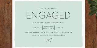 engagement brunch invitations engagement party invitation wording