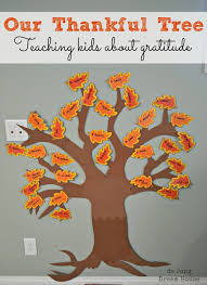 Thankful Tree Craft For Kids - de jong dream house teaching our child to give thanks