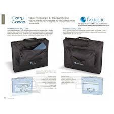 earthlite massage table bag earthlite massage table carry case