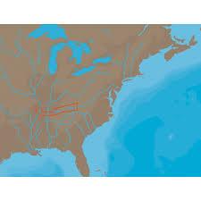 cumberland river map c map nt na c046 cumberland river c card