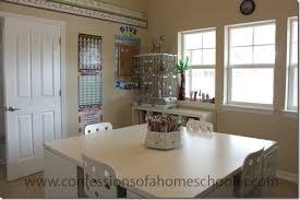 Homeschool Desk Updated Homeschool Room Tour Confessions Of A Homeschooler