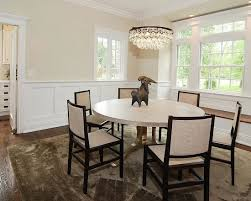 Wainscoting Dining Room Wainscoting Dining Room Houzz Within Dining Room With