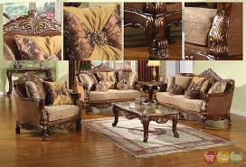 Formal Living Room Couches by Traditional European Design Formal Living Room Sofa Set W Carved