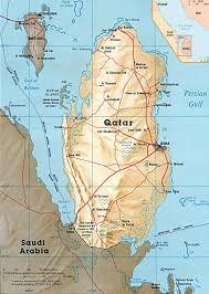 Map Of Bahrain Qatar Map Flag Capital Doha