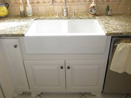 kitchen sink with backsplash apron front sink in kitchen traditional with travertine tile