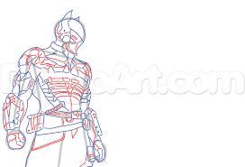 how to draw the arkham knight batman arkham knight step by step