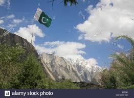 Flag Of Pakistan Pic Pakistan Flag In Karakoram Mountains Pakistan Stock Photo