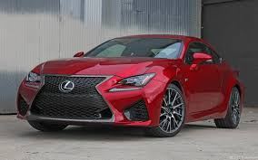 red lexus 2015 girlsdrivefasttoo 2015 lexus rc f coupe review