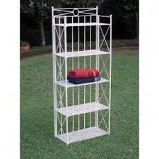 Used Bakers Rack For Sale Wrought Iron Bakers Rack Outdoor Foter
