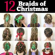 christmas braids hair by lori