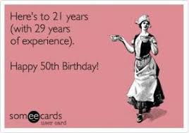 50 Birthday Meme - 50 birthday dawn carter