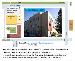 Utah State Parks Map by Training U0026 Career Ladder Care About Childcare Usu