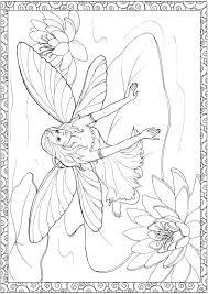 0 ideas fairy coloring pages colouring coloringeast