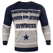 cowboys sweater cowboys nfl mens stadium light up crew neck sweater