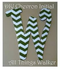 Home Decor Initials Letters Best 25 Chevron Letter Ideas On Pinterest Chevron Initial