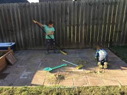 how to install paver patio how to install a paver patio the foundation of my raised garden