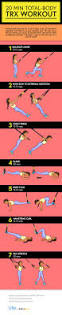 trx workout infographic best infographics