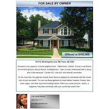 real estate flyers templates free home for sale flyer template free stackerx info