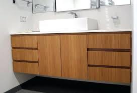 bamboo vanity bathroom u2013 levar me
