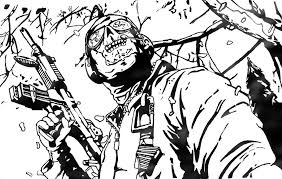 call of duty black ops coloring pages coloring pages kids