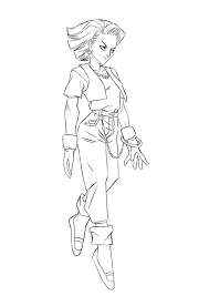 let u0027s animate dbz android 18 sketch 2 step by step