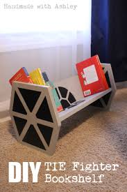 how to build a star wars tie fighter bookshelf tutorial