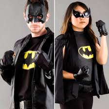 the league halloween costumes save gotham city with this batman and batgirl couples halloween