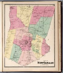 Map Of Canaan Town Of New Canaan Fairfield County Connecticut David Rumsey