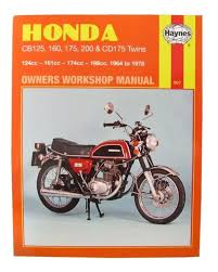 honda cd 175 1967 78 175 cc haynes workshop manual ebay