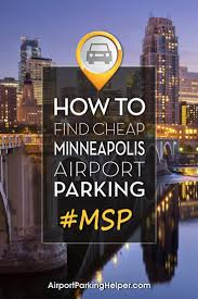 Msp Map Msp Parking 6 Ways To Get Cheap Minneapolis Airport Parking Rates