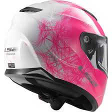 ls2 motocross helmet ls2 ff320 stream wind white fluo pink helmet motocard