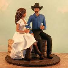 cowboy wedding cake toppers caketopcreations products