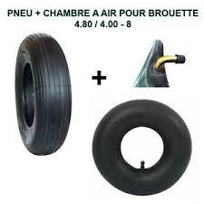 kit special brouette pneu 4 80 4 00 8 avec chambre à air avec valve