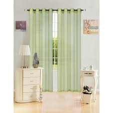 In Store Curtains Lime Green Curtains