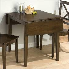 kitchen tables for small spaces round drop leaf kitchen table or introduction easy way to make a