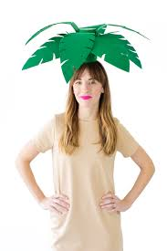 diy palm tree beach ball costumes studio diy