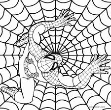 comic book coloring pages printable spiderman coloring pages for kids cool2bkids comic