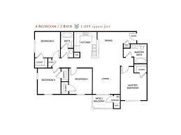 4 bedroom 2 bath floor plans davis apartments floor plans alhambra at mace ranch apartments