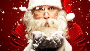 the santa claus talk scary
