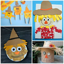 Cool Thanksgiving Crafts For Kids 25 Best Scarecrow Crafts Ideas On Pinterest November Crafts